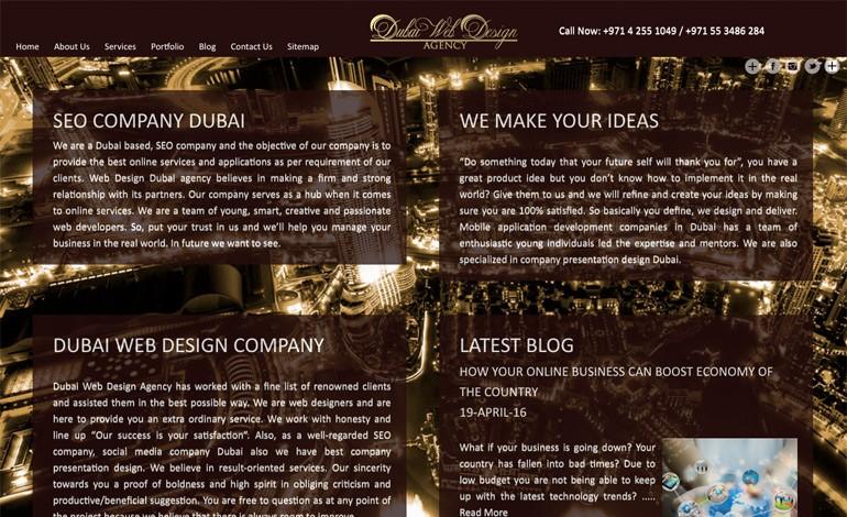 Dubai Web Design Agency
