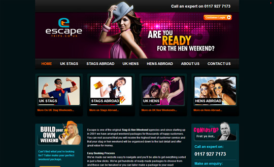 Escape Trips Hen & Stag Weekends
