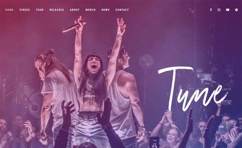 Tune Music WordPress Theme