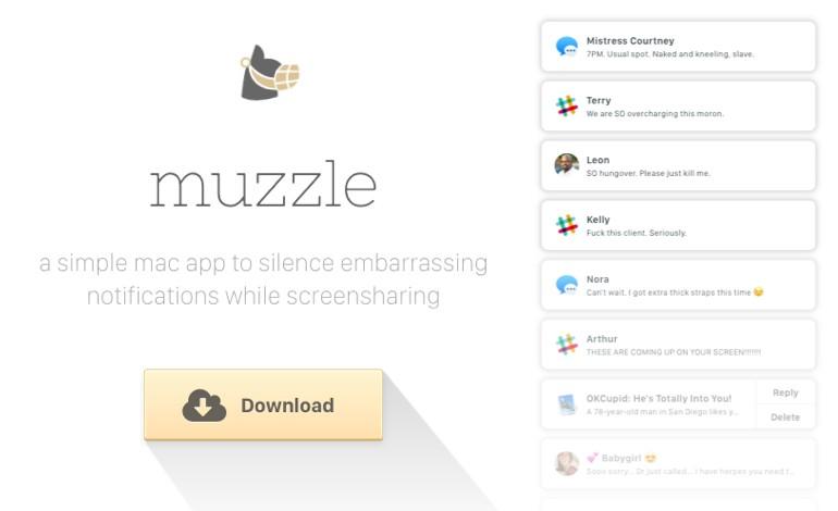 Muzzle App