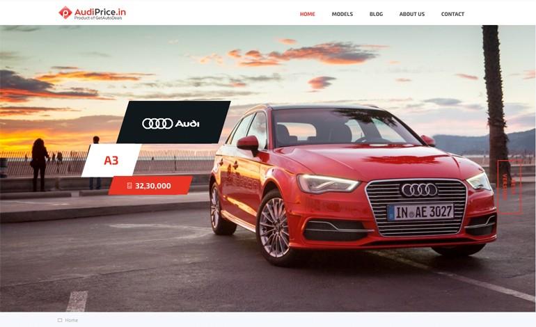 Audi Price In India Csslight