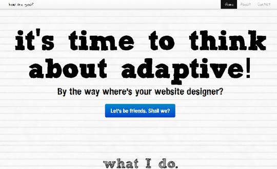 Minimalist Website Designer