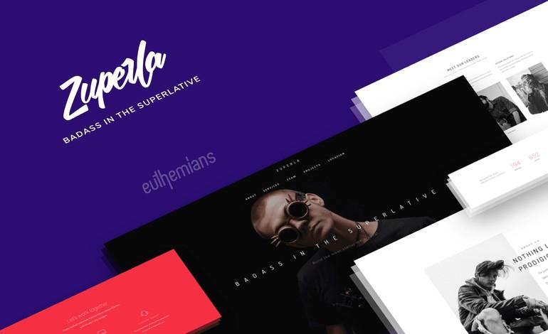 Zuperla Creative and Multipurpose WP theme
