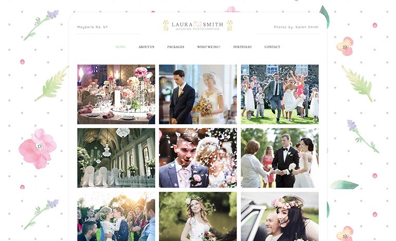 Vivagh Wedding Photographer Theme