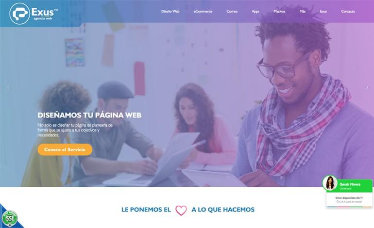 Exus Agencia Web