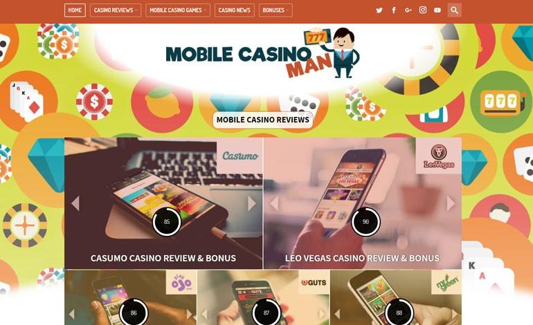 Mobile Casino Man