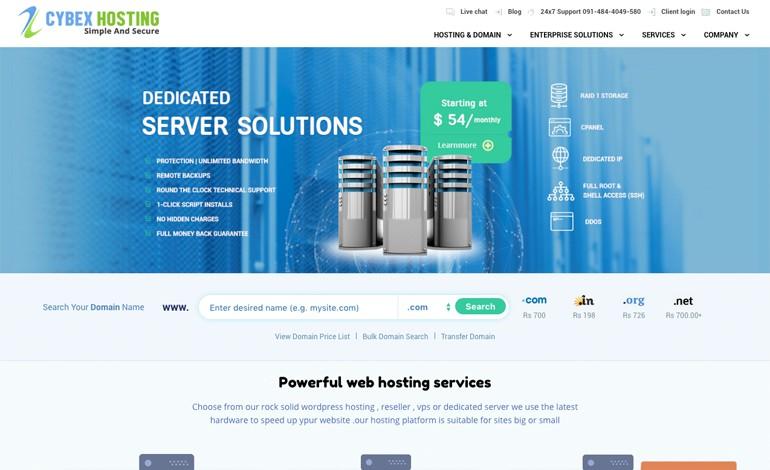 cybex hosting