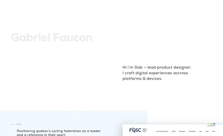 Gabriel Faucon Product Designer