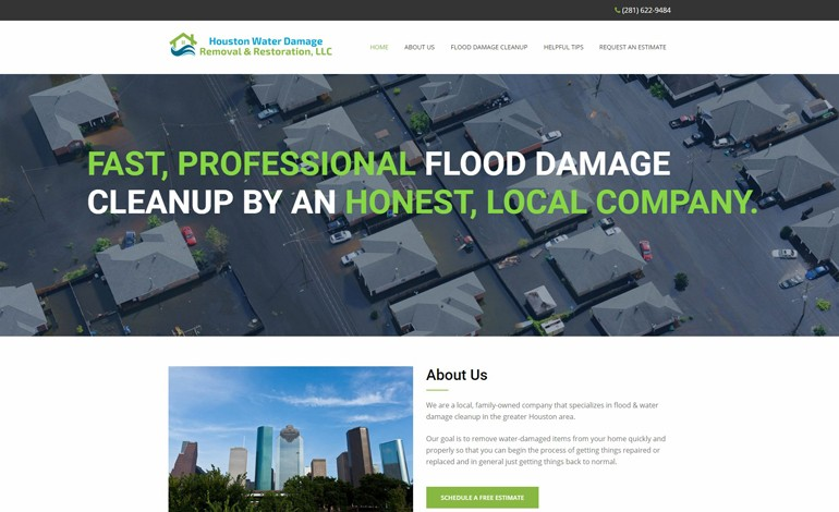 Houston Water Damage Removal and Restoration