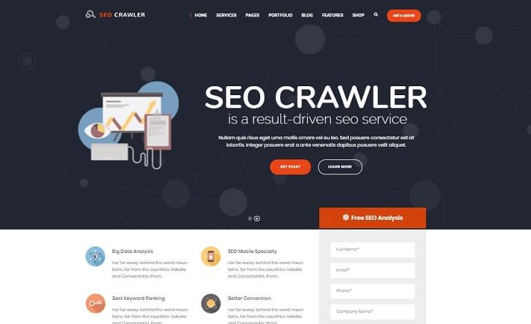 SEO Crawler Digital Marketing Agency Social Media SEO WordPress ...