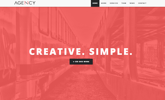 Agency11 - One Page Bootstrap Theme