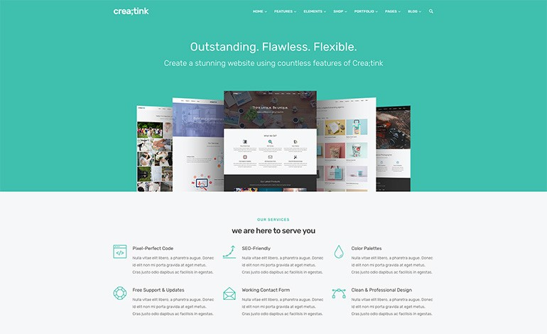 Creatink HTML5 Template