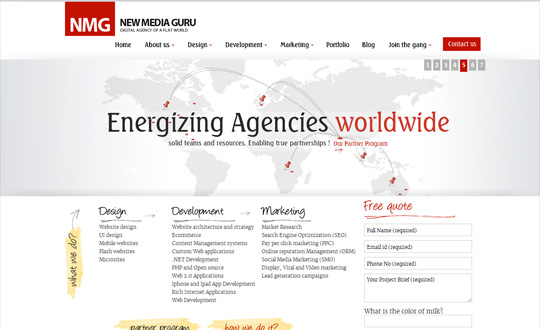 NEW MEDIA GURU (NMG) - Digital Agency of a Flat World
