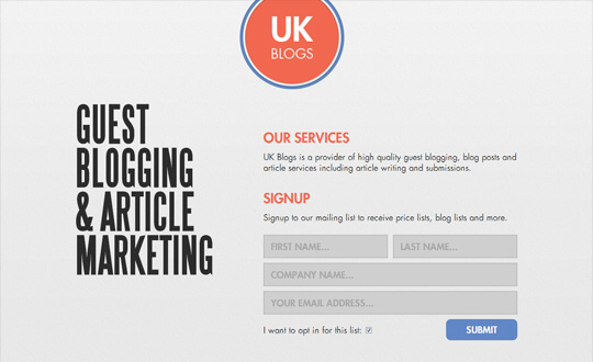 UK Blogs