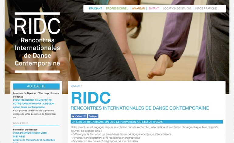 RIDC Danse school in Paris