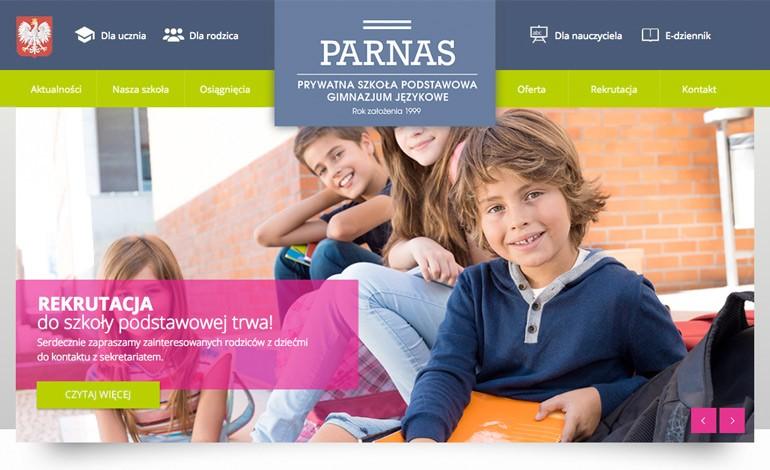Szkola Podstawowa Parnas  Prywatne Gimnazjum Jezykowe Parnas