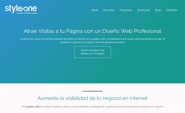Styleone Web Design