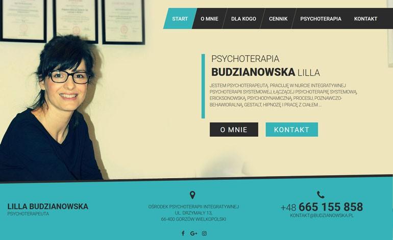 Psychotherapy Lilla Budzinowska