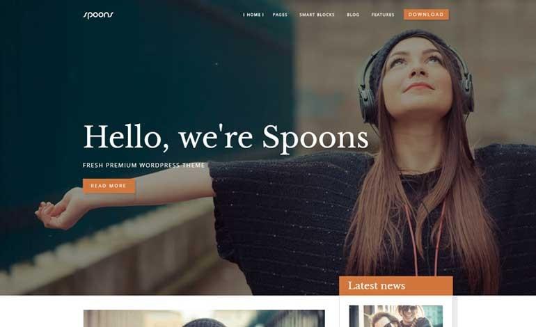 Spoons WordPress Theme
