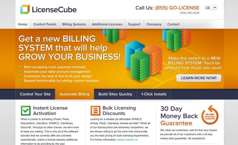 License Cube