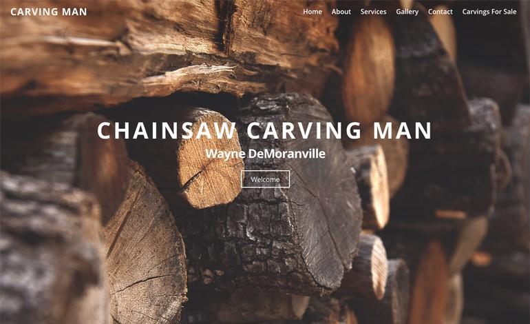 Carving Man