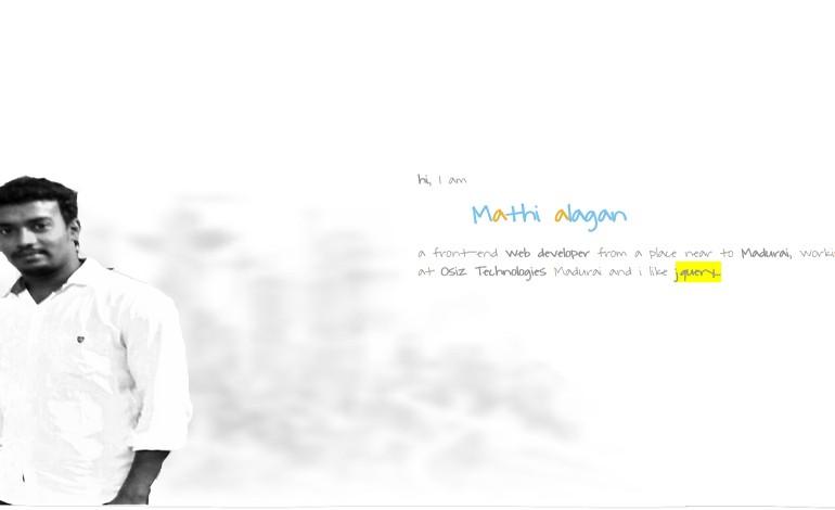 Mathi alagan