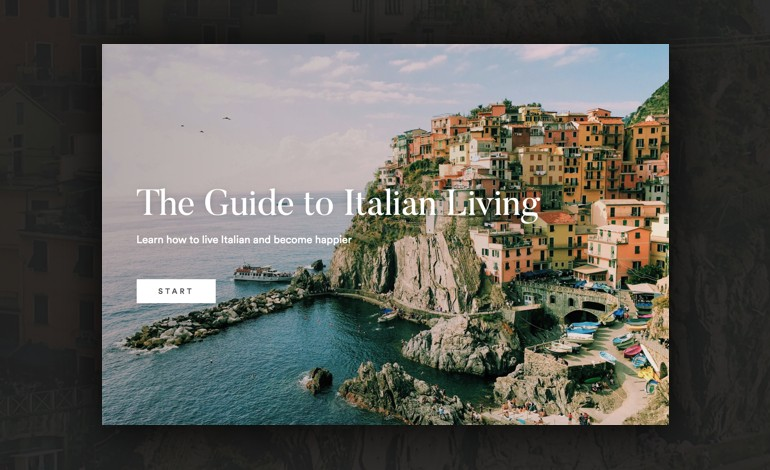 The Guide to Italian Living