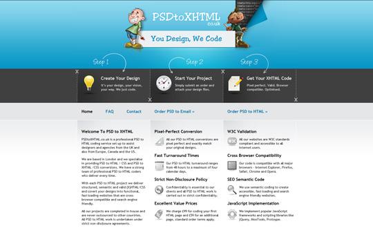 PSDtoxHTML.co.uk
