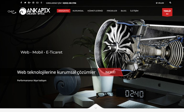 Ankapix Creation Office