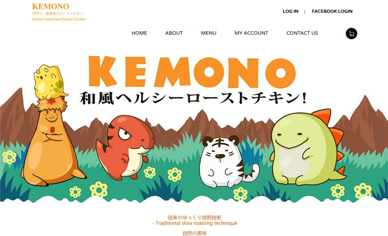 Kemono Healthy Japanese Roast Chicken