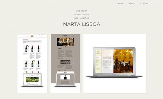 Marta Lisboa Portfolio