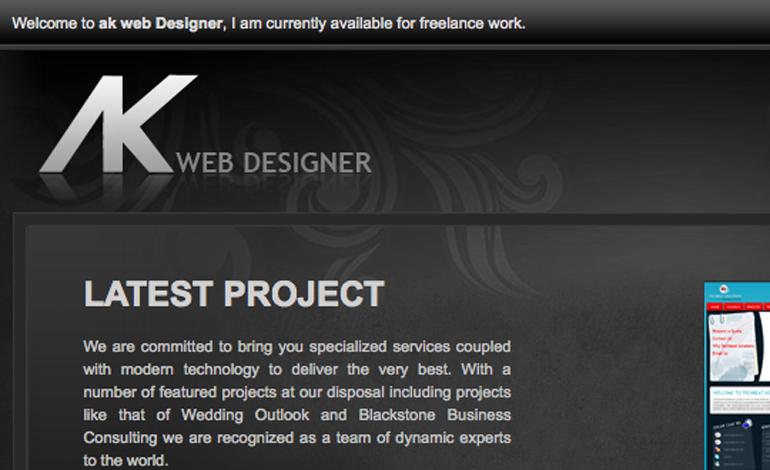 Ak Web Designer