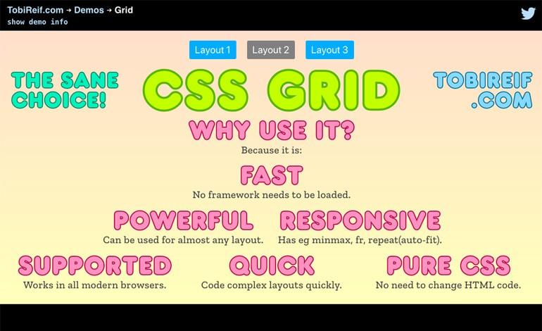 CSS Grid demo
