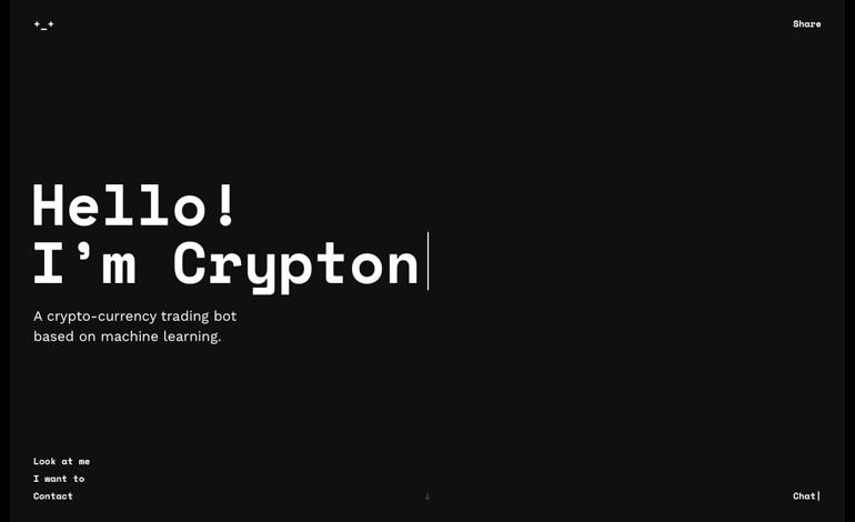 Crypton trading bot