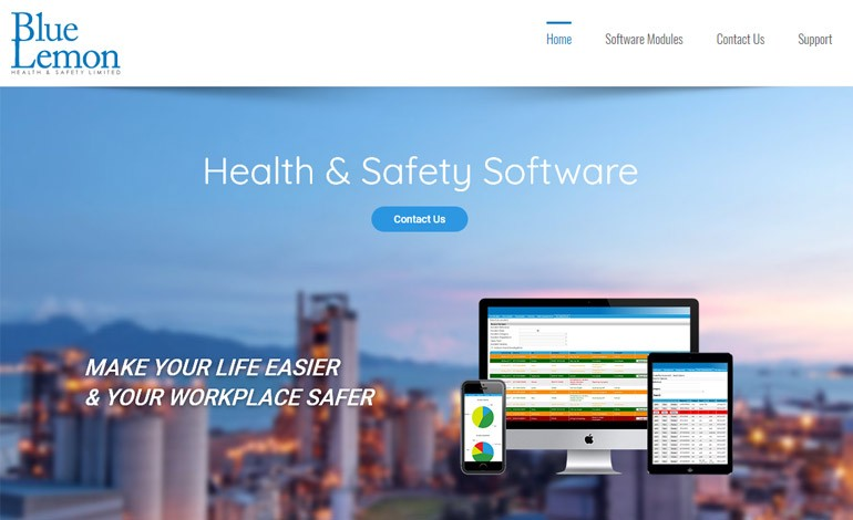 Blue Lemon Health and Safety Software