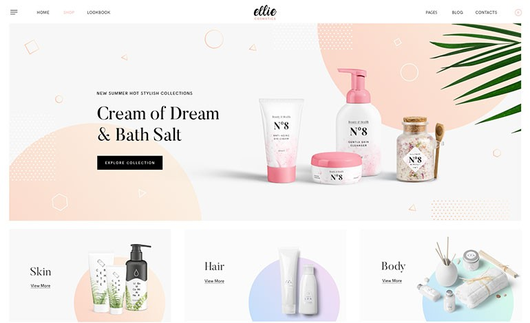 Ellie Free WordPress WooCommerce Theme