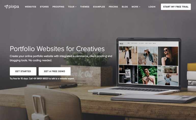 Pixpa Portfolio Websites for Photographers