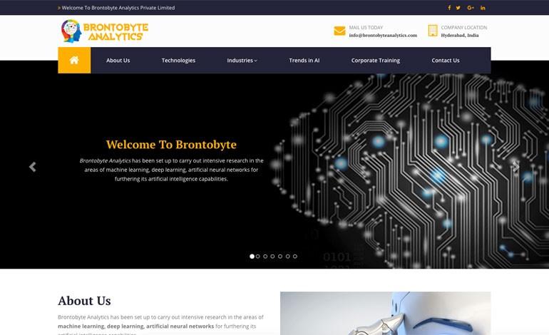 Brontobyte Analytics Pvt Ltd