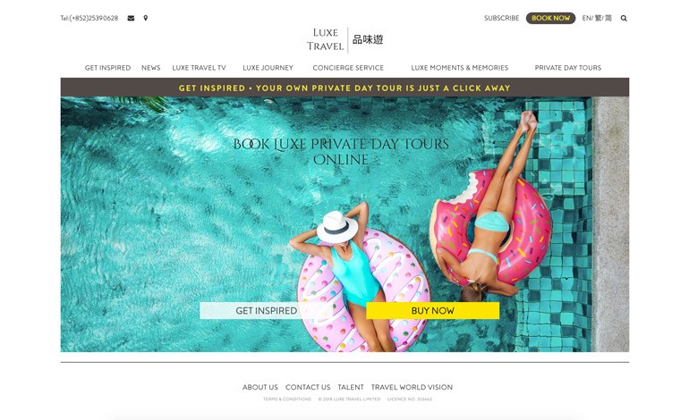 Luxury Travel at Luxe Travel