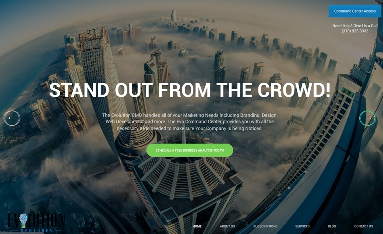Evolution Ventures Advisory Detroit Business Consulting