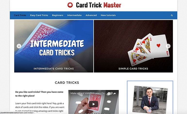 Card Trick master