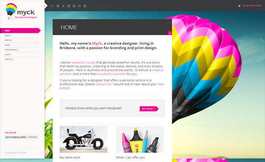 Myck : Your personal designer