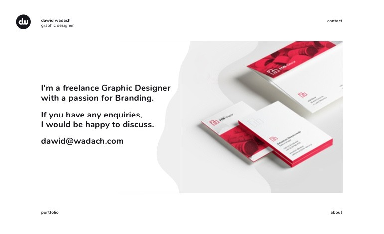 Dawid Wadach Graphic designer