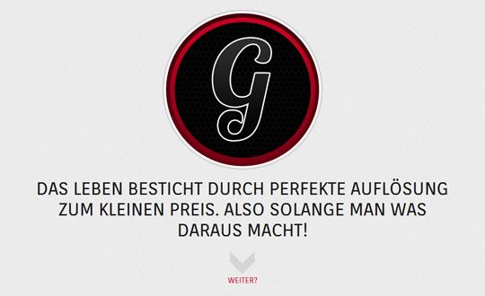 Godrockster Lockerheit G.staltungsfreiheit