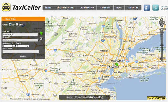 TaxiCaller Taxi Dispatch Software