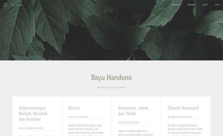 Bayu Handono