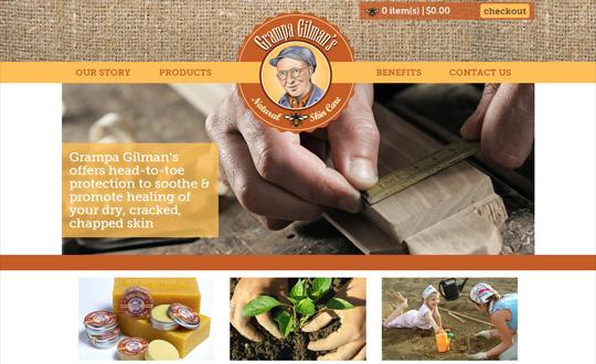 Grampa Gilman's Natural Skin Care