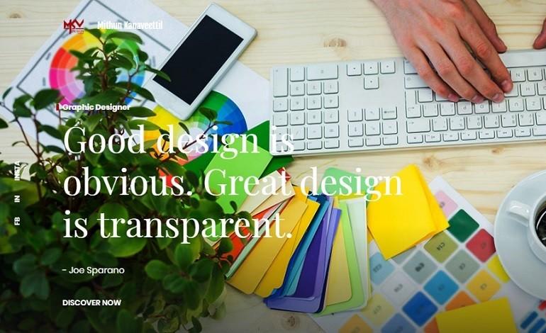 MKV Design Studio Mithun Kanaveettil Web Portfolio