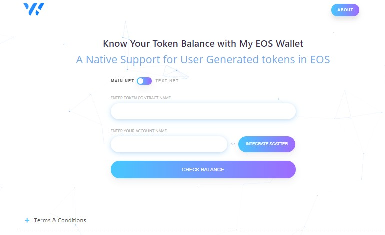 Wallet For EOS