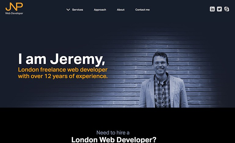 Freelance Web Developer Jeremy